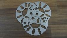 """TWO (2) WHEEL SPACERS 5 MM THICK 5x4"""" 5x4.25"""" 5x4.33"""" 5x4.41"""" 5x4.5"""""""