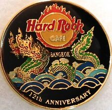 Hard Rock Cafe BANGKOK 2003 12th Anniversary PIN ROUND Green Dragon - HRC #16843