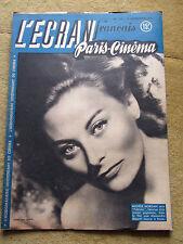 l'écran français paris cinema, n°124, 11 novembre 1947