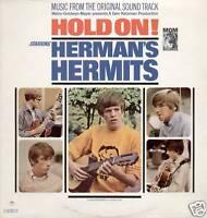 HERMAN'S HERMITS ~ HOLD ON! ~ 1966 US 10-TRACK MONO VINYL LP ~ MGM E-4342ST