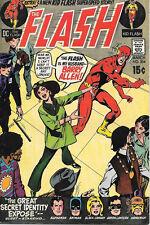 The Flash Comic Book #204, DC Comics 1971 FINE+