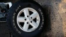 JEEP WRANGLER 2010 WHEEL SET of 4 alloys with tyres 245/75/R16 #128483