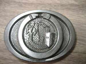 KNIGHTS   BELT BUCKLE (BK340)