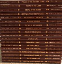 Time Life Books - The American Indians Set Of 18 - Illustrated EUC