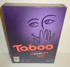Taboo Board Game - The Game of Unspeakable Fun by Hasbro NEW SEALED 2013