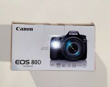 Canon EOS 80D 24.2MP Digital SLR Camera w/ 50 mm Portrait Lens!