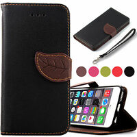 """Leather Flip Cover Credit Card Wallet Case For Apple iPhone 6 6s (4.7 """")"""