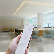 Automatic AC Tubular Electric Curtains Motor Roller Remote Control Shades Blinds