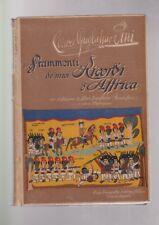 Guglielmo Pini FRAMMENTI DE MIEI RICORDI D'AFFRICA africa 1912 lapi con foto