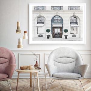 NEW 31 Rue Cambon I Unframed Premium Wall Art Print | Chanel Artwork Home Decor