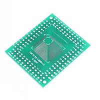 10Pcs FQFP TQFP 32 44 64 80 100 LQFP SMD DIP 0.5 / 0.8mm Adapter Plate