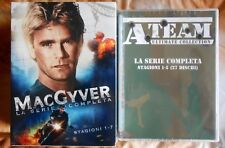 box set 65 dvd macgyver mac gyver a team ateam serie completa complete series gq