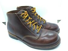 """Danner Jack 5"""" Chocolate Brown Leather Men's Ankle Work Boots SZ 8"""