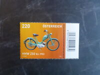 2013 AUSTRIA MOTORCYCLES ISSUE MINT STAMP MNH
