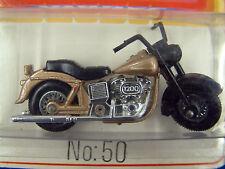 MATCHBOX Lesney MB50 Harley Davidson moto nella confezione a bolla