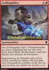2x Zwillingsblitz (Twin Bolt) Dragons of Tarkir Magic