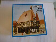 Kibri N 7104 Rathaus Michelstadt - Fachwerk originell - 120x80x160 mm OVP TOP