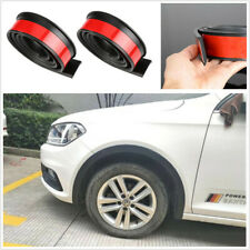 1.5m Car Wheel Eyebrow Arch Moulding Trim Fender Flares Rubber Protection Strip