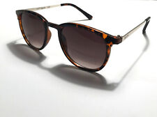 Kenneth Cole Reaction Women's Round Sunglasses Brown Plastic KC1362 52F