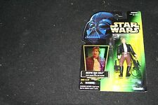 Han Solo BESPIN 1997 Power of the Force POTF Star Wars GREEN Card