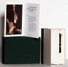 """Coffret Promo COLLECTOR  Françis CABREL, """"Hors-Saison"""", 2 livres, 28 &100 pages"""