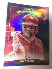 LA Los Angeles Angels - Mike Trout -  2020 Donruss Purple parallel Diamond Kings