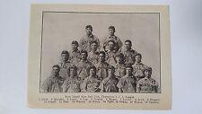 Rock Island Islanders 1907 Laj Team Picture Jack Wanner Jack Himes Joe Berger