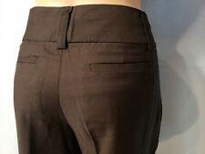 New Woman's Merona Black Modern Fit Slim Dress Pants 10% Wool Size 2