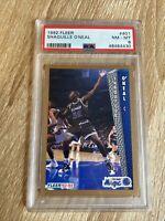 1992 Fleer Shaquille O'Neal #401 Rookie *PSA 8 NM-MT* Magic HOF New Slab 👀🔥