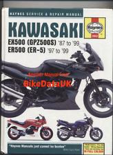 Kawasaki GPZ500S ER-5 (87-99) Haynes Shop Manual Book ER EX GPZ 500 S ER5 CX82