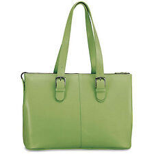 Jack Georges Milano Collection Madison Avenue Tote Green 3902-green