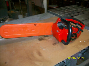 """Homelite Super 2 16"""" Gas Chainsaw Used Running cond."""
