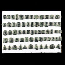 63 Pcs Natural Asteroid Jasper 19mm-32mm Beautiful Untreated Loose Cabochon Gems