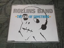 Rollins Band:  End of Silence    CD Single (White Sleeve)