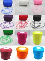 """Hot selling 12 kinds Colour 50Yards 3/8 """"(10mm) Sheer Organza Ribbon SD12"""