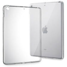 """For iPad 5th Generation 2017 9.7"""" Transparent Clear TPU Silicone Case Back Cover"""