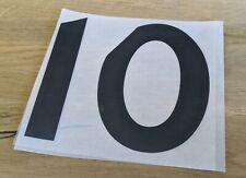 Patch Maillot rugby Stade Rochelais / La Rochelle Top 14 Flocage Numéro Noir