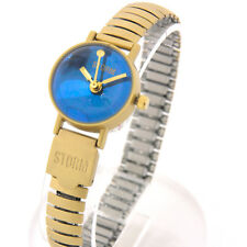 "STORM VINTAGE WOMEN'S WATCH ""Baby Bubble""  Gold/Blue"