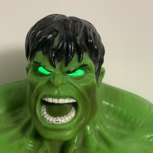 Marvel The Incredible Hulk Stompin Smashin Lights Sounds Stomp N Smash Figure
