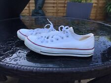 White Converse Trainers Size 6