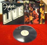 LP Record - Foghat Live  / Bearsville BRK 6971 - 1977