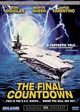 THE FINAL COUNTDOWN Movie POSTER 27x40 B Kirk Douglas Martin Sheen Katharine