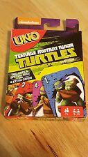 Tmnt Uno Card Game- Classic Card Game - Teenage Mutant Ninja Turtles nickelodeon