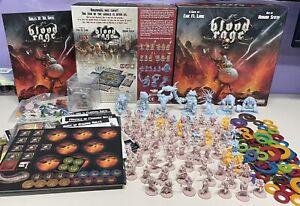 Blood Rage CMon Kickstarter Ragnarok Pledge 5th Player Expansion Exclusives