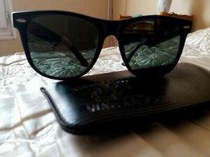 Authentiques lunettes solaires Ray-ban Wayfarer II Bausch & Lomb & étui Vintage