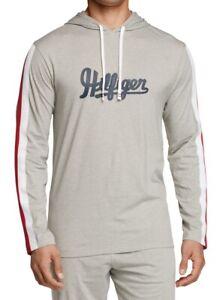 Tommy Hilfiger Mens Sleepwear Gray Size Small S Nightshirt Hoodie $59 #107