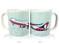Hawaiian Airlines Airbus A330 Airliner Coffee Mug Cup