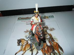 CAVALIERS DES GUERRES NAPOLEONIENNES cavaliers hussards de ROHAN 1796
