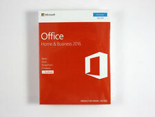 Microsoft Office Home & Business 2016 - DE/EN/FR + Multilingual - PKC - NEU