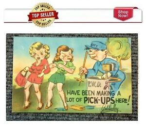 Vintage 1960's Comic Postcard # 364